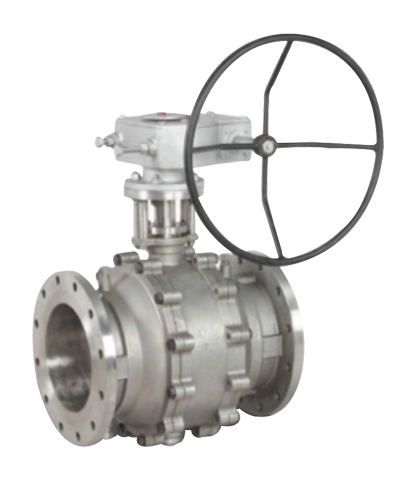 Cast Trunnion Mounted Ball Valve