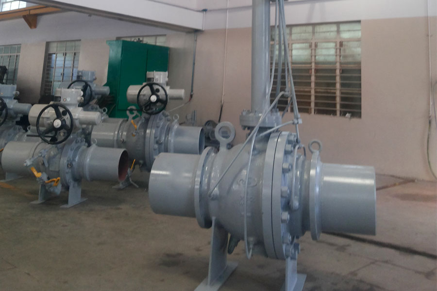 Successfully delivers  Fully Welded 3.5 Meter Extended Stem Ball Valve