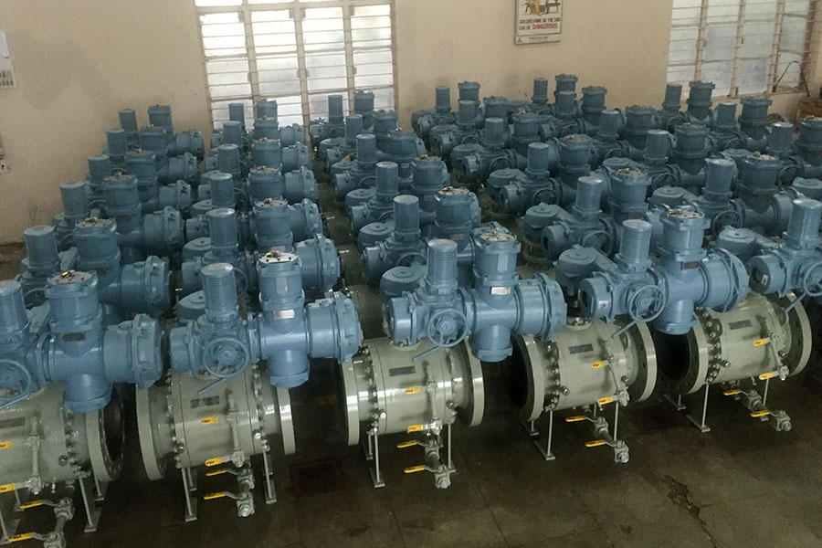 Supplied Trunnion Mounted Forged Ball Valve
